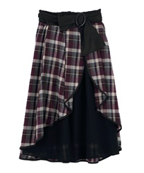 Long skirt_FI291X03P(Purple-Free)