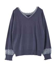 2-way washable knit