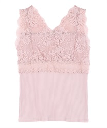 Lace design tanktop
