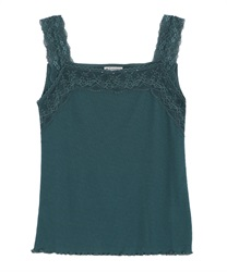 Lace sleeveless tank