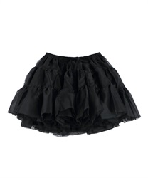 【2Buy20%OFF】Hearty organdy panniers(Black-Free)