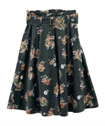 Skirt_FN285X08(Dark green-Free)