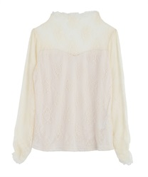 【2Buy10%OFF】Full Lace Pullover(Ecru-Free)