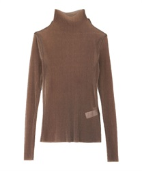 Pleated cut pullover(Brown-Free)