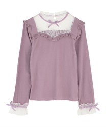 Bustier pullover(Purple-Free)
