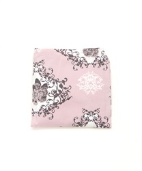 Archived Rose Pattern Eco Bag(Pale pink-M)