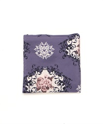 Archived Rose Pattern Eco Bag(Purple-M)