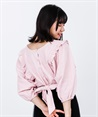 2WAY Momonga Blouse(Pale pink-Free)