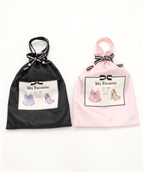 Silhouette Clothes storage purse