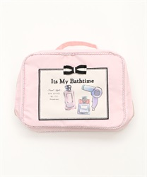 Silhouette amenities case(Pale pink-M)