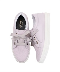 【2Buy10%OFF】Lace Sneakers(Lavender-S)