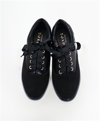 Combination sneakers(Black-S)