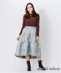 Fishtail JQ skirt(Saxe blue-Free)
