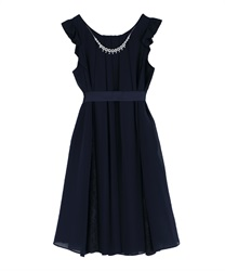 A line 2WAY dress(Navy-Free)