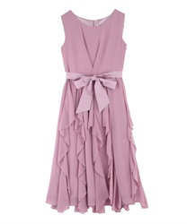 Ruffle Skirt dress(Pale pink-Free)