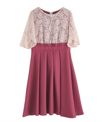 Sleeves with Lace frame address(DarkPink-Free)