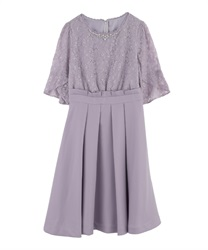 Sleeves with Lace frame address(Lavender-Free)