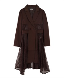 Lacey Long jacket(Brown-Free)