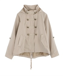 【Global Price】Napoleon Mountain Hoodie(Beige-Free)