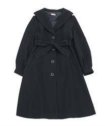 Robe style design coat(Black-Free)