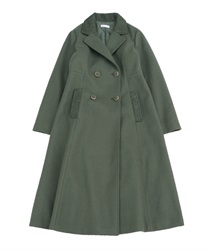 Classic long coat(Green-M)