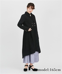 Lace jacket coat(Black-Free)