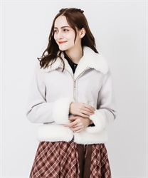 Suede coat(White-Free)