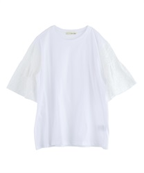 Sleeve paneled big pullover [online only](Ecru-Free)