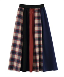 Skirt_KM281X09(Navy-Free)