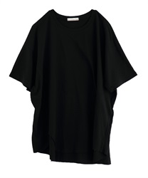 Long Tail Cut Tunic [Online only](Black-Free)
