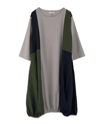 Big Dress with different color scheme(Grey-Free)