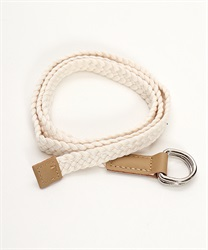 Faux leather seamstress belt [online only](Beige-M)