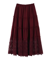 Long skirt_MK291X47(Wine-Free)