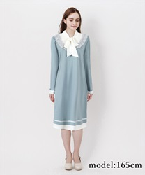 A-line bowtie dress