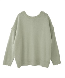 2 way loose knit(Green-Free)