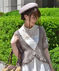 Knit cardigan_MR151X45