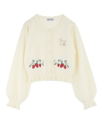 Strawberry Knit Cardigan