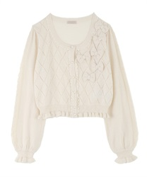 Knit cardigan_MR161X25P(Ecru-Free)