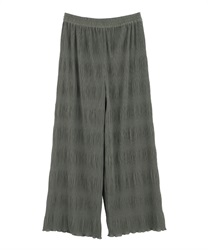 Majorica pleated pants(Khaki-Free)
