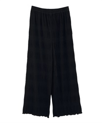 Majorica pleated pants(Black-Free)