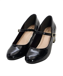 One-strap pumps(Black-S)