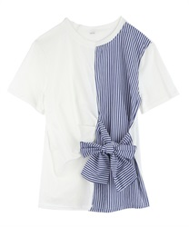 【2Buy20%OFF】Striped PO(Ecru-Free)