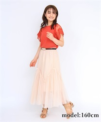 Tulle and Ribbon Skirt
