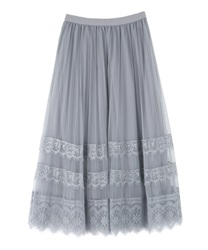 Lace and tulle SK(Grey-Free)