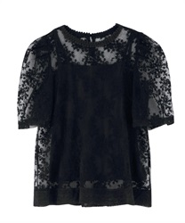 Lace PO with inner cami(Black-Free)