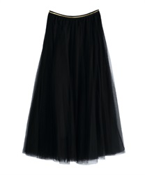 Long skirt_TE291X01(Black-Free)