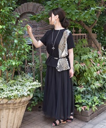 Long skirt_TE291X03(Black-Free)