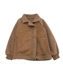 【10%OFF】Boa moto jacket(Brown-Free)
