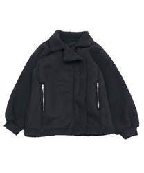 【10%OFF】Boa moto jacket(Black-Free)