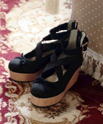 Ballerina shoes(Black-S)
